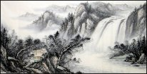 Waterfall- Chinese Painting