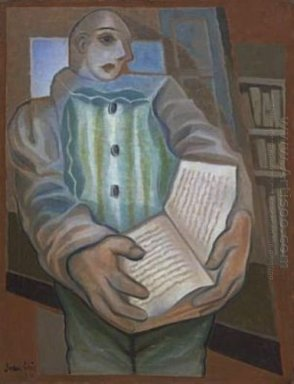 Pierrot With Book 1924
