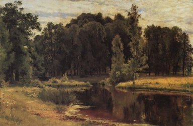 Pond In A Old Park 1897