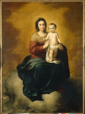 Madonna In The Clouds 1660