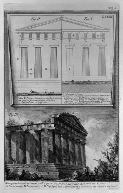 Set Design Elevations And The Temple Of Concordia In Agrigento