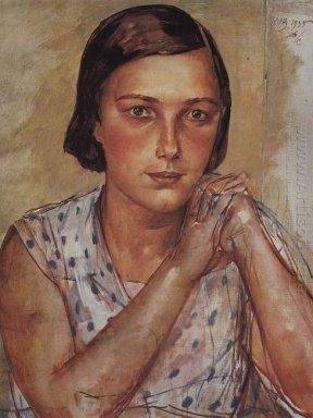 Portrait Of The Artist S Daughter 1935