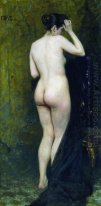 Nude Model From Behind 1896