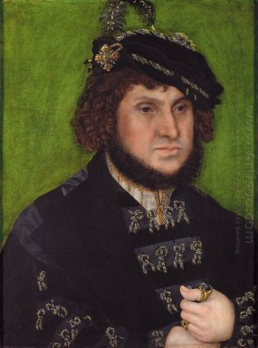 Portrait Of Duke Johann Der Bestandige Of Saxony 1509