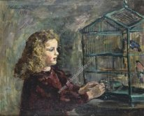 A Girl With A Bird 1954