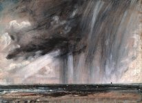 seascape study with rain cloud 1