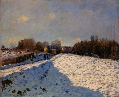 the effect of snow at argenteuil 1874
