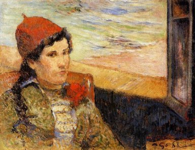 young woman at the window 1888