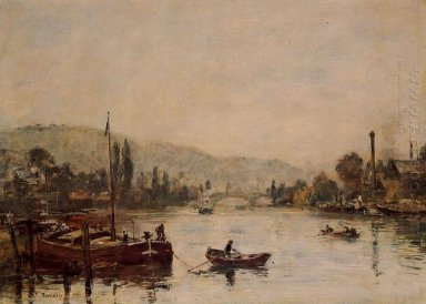 Rouen The Santa Catherine Coast Morning Mist 1895