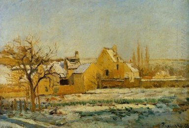 the effect of snow at hermitage 1874