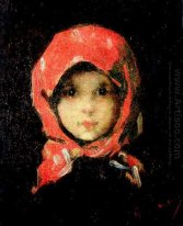 The Little Girl with Red Headscarf