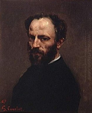 Portrait Of Amand Gautier 1867