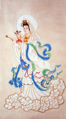 Guanyin-Chinese Painting