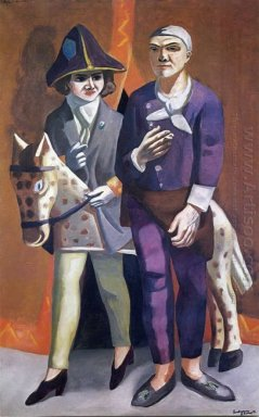 The Artist And His Wife 1925