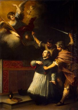 Death Of The Inquisitor Pedro De Arbués 1664