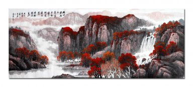 Mountains, water- Chinese Painting