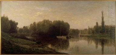 The Banks Of The Oise 1859