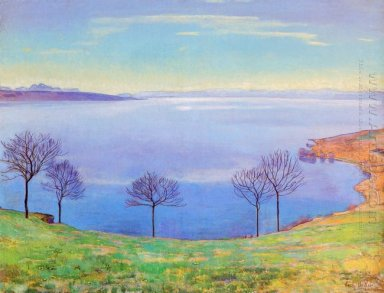 The Lake Geneva From Chexbres 1898