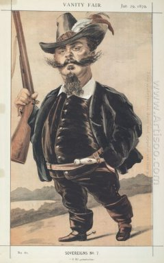 Sovereigns No 70 Caricature Of M Victor Emmanuel Ii Of Italy