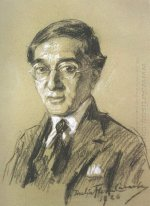 Portrait of poet K.P. Cavafy