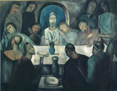 the last supper of jesus 1911