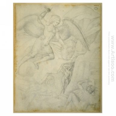St Michael Defeating Satan