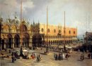 view of the church and the doge s palace from the procuratie vec