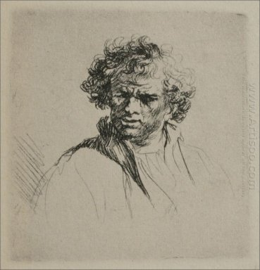 A Man With Curly Hair 1635