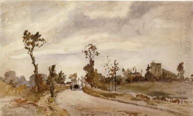 road to saint germain louveciennes 1871