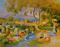 Laundresses At Cagnes 1912