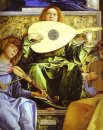 The San Giobbe Altarpiece Detail Of Music Making Angels 1480