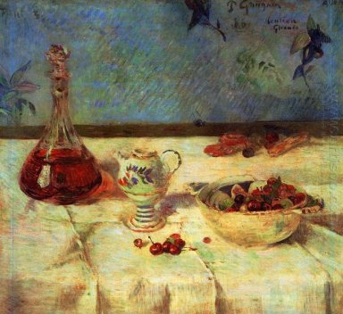 still life with cherries 1886