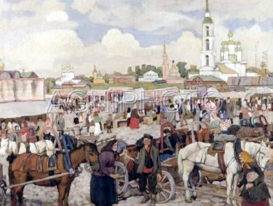 The Market In Uglich