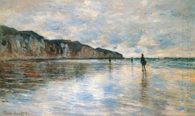 Low Tide At Pourville