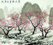 Arbres peintures chinoises