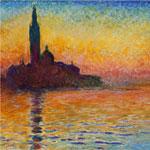 San Giorgio Maggiore au crépuscule
