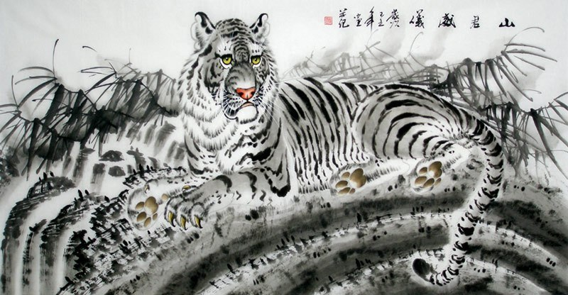 Chinese Tiger Painting Artisoocom Buy Hand painted Oil