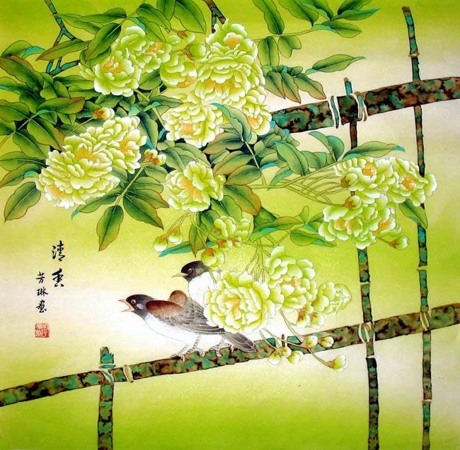 Chinese Painting: Birds&flowers-Cleare