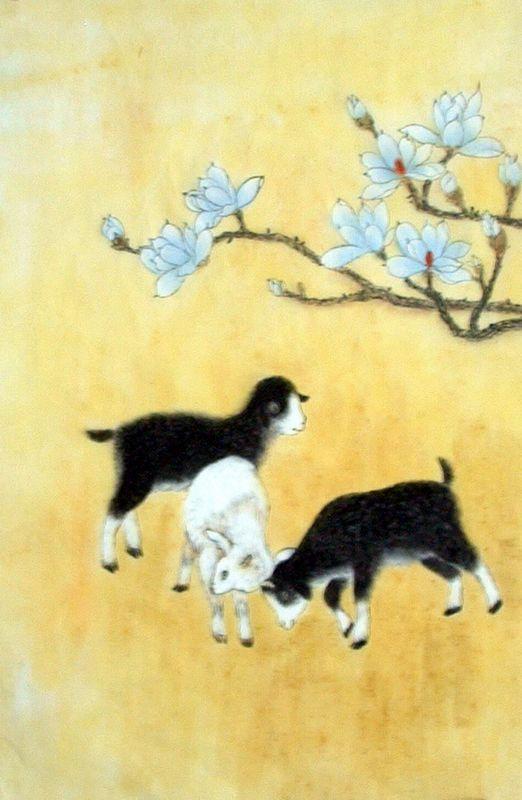 Animal Chinese Painting