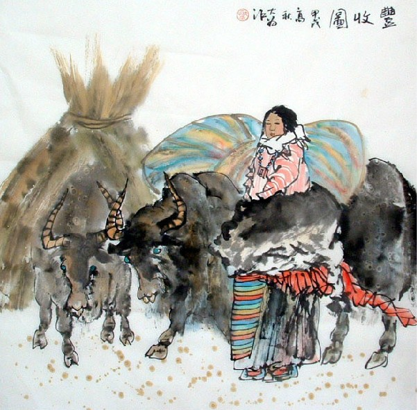 Chinese Bumper Painting