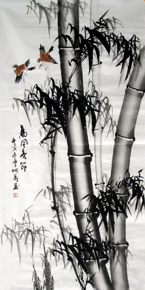 Chinese Bamboo Culture Chinese Painting Blog