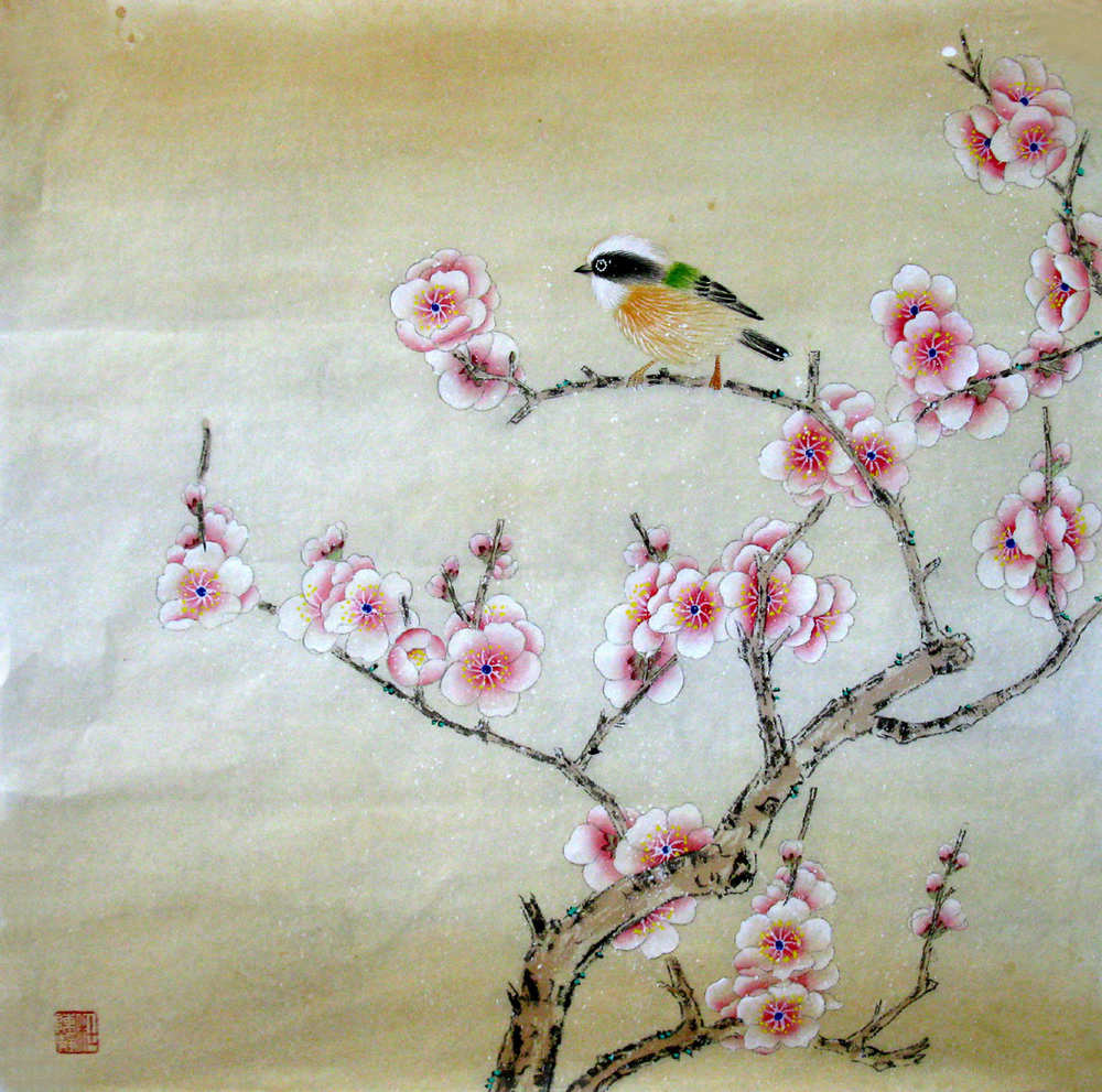 significance of chinese painting's symbolic meaning  chinese, Natural flower