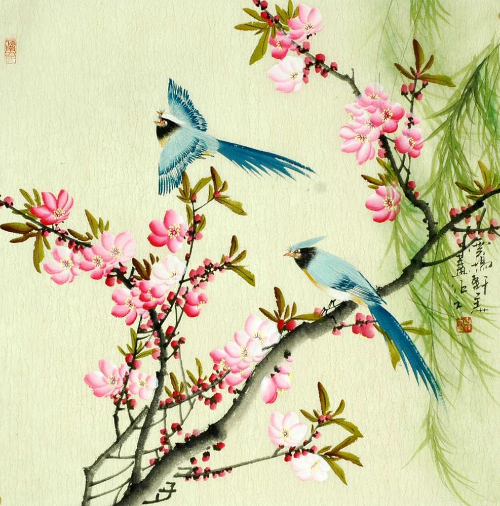 Японские птицы картинки