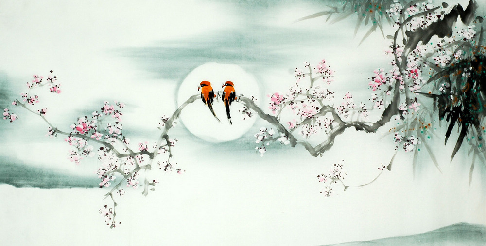 Chinese painting for the living room | Chinese Painting Blog
