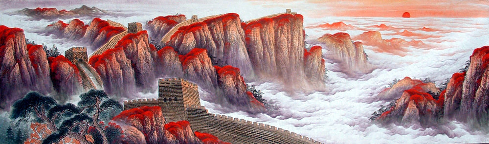 Chinese Great Wall Painting