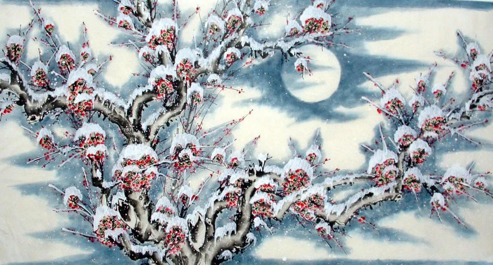 Chinese Plum Painting