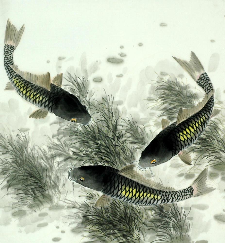Chinese Fish Painting