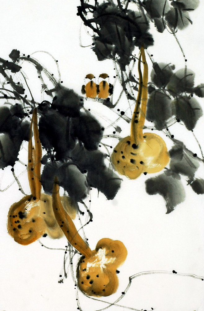 Chinese Groud Painting