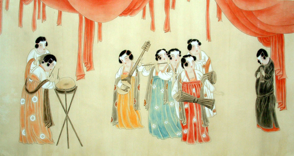 Ancient Beauty in Chinese Paintings | Chinese Painting Blog