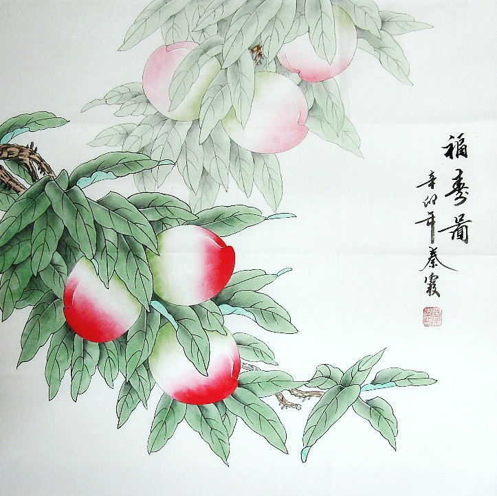 Symbolic Meaning Of Peach In Chinese Painting Chinese Painting Blog